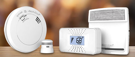 First Alert combo smoke, fire, co and gas alarms