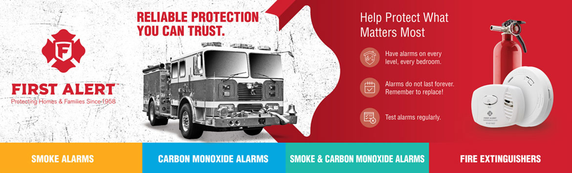 first alert a brand you can trust in fire safety