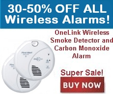 Onelink Wireless Smoke and Carbon Monoxide Detectors for Sale