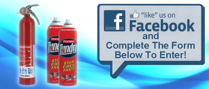 Win a First Alert Fire Extinguisher Bundle Pack