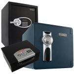 First Alert Safes and lockboxes