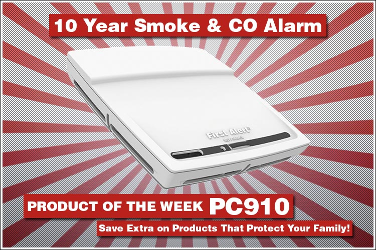 First Alert PC910 10 year alarm