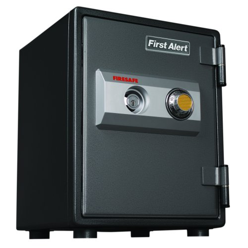 First alert fire safe with combination and