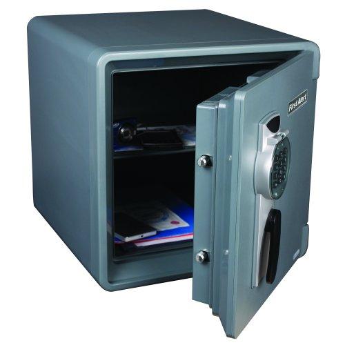 First Alert 1.31 Cubic Foot Water, Fire and Theft Digital Safe
