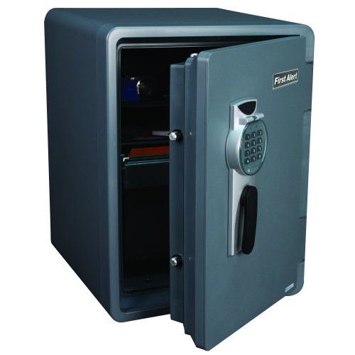 First Alert 2.1 Cubic Foot Water, Fire, and Theft Digital Safe - 2096DF