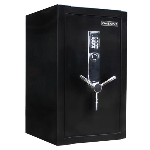 first alert fire theft executive safe provides plenty of space to house. Black Bedroom Furniture Sets. Home Design Ideas