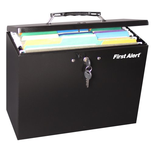 First Alert Steel Hanging Folder File Box  sc 1 st  First Alert Store & The First Alert hanging folder file box protects important ... Aboutintivar.Com