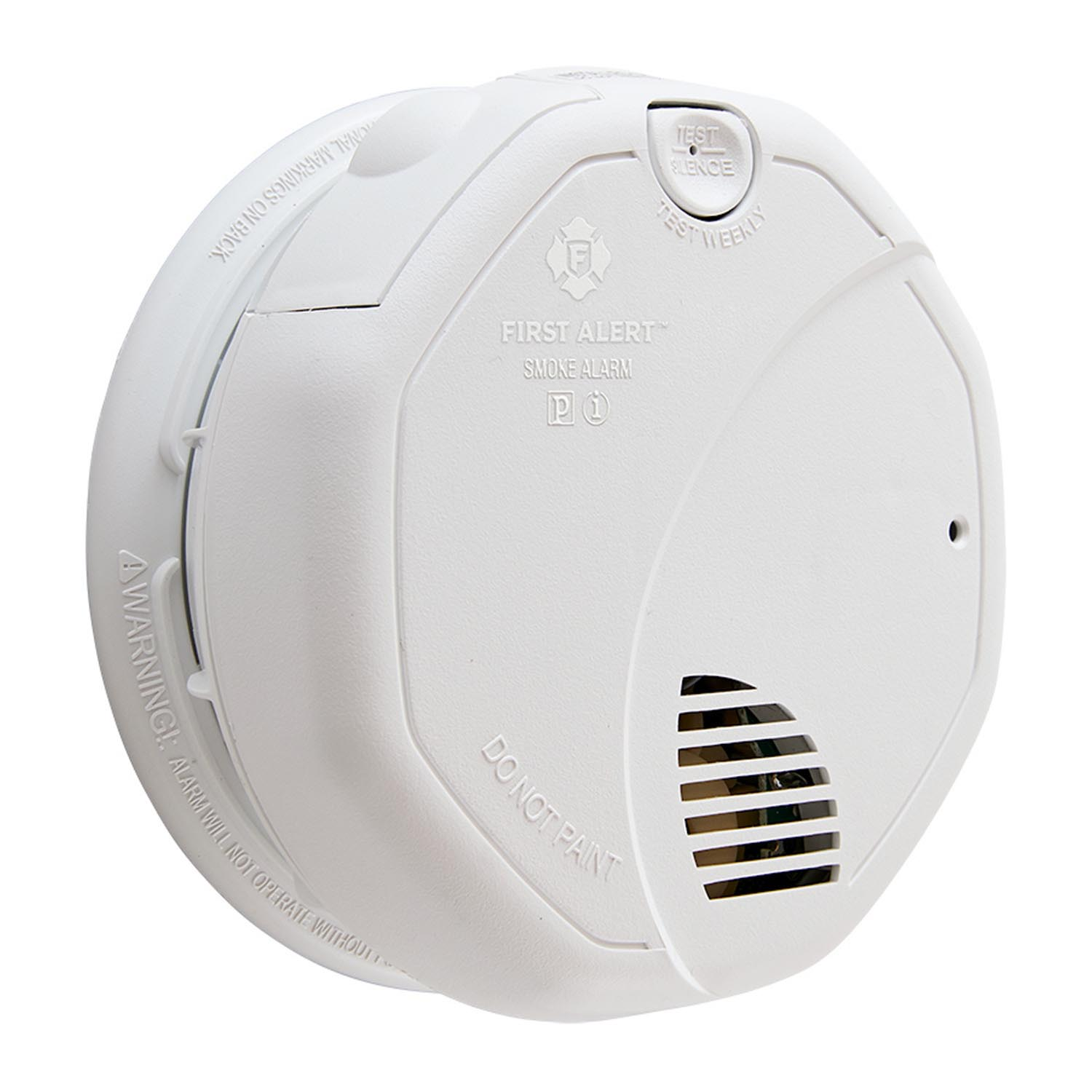 Smoke alarm hardwired