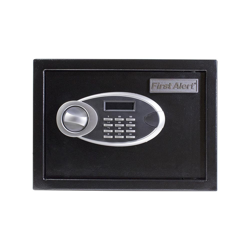 First Alert 0.57 Cubic Foot Steel Digital Anti-Theft Safe - 4005DFB
