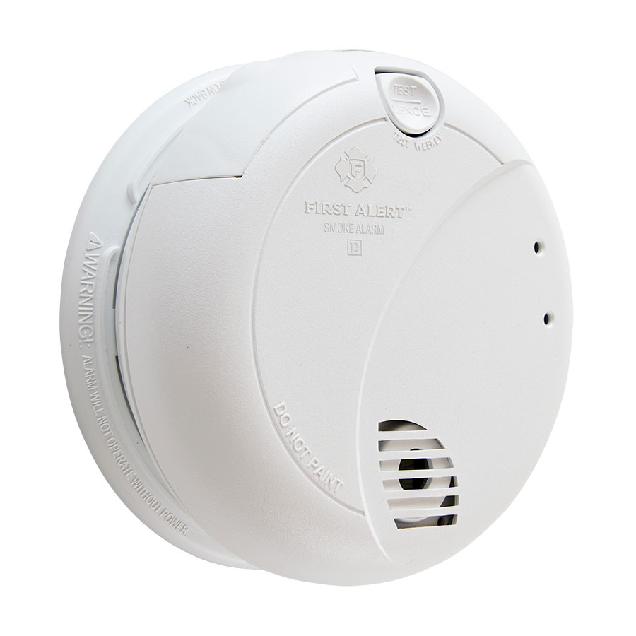 first alert 7010b hardwired photoelectric smoke alarm with battery rh firstalertstore com