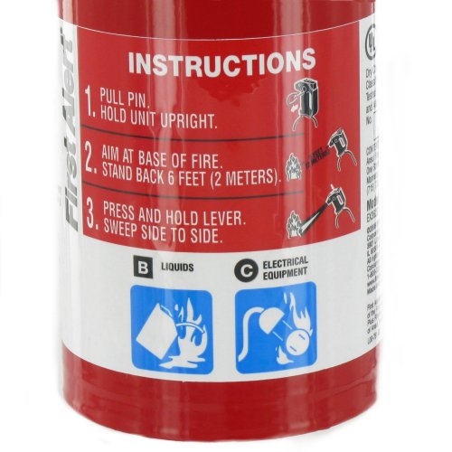 First Alert Auto5 Auto Fire Extinguisher Ul Rated 5 B C