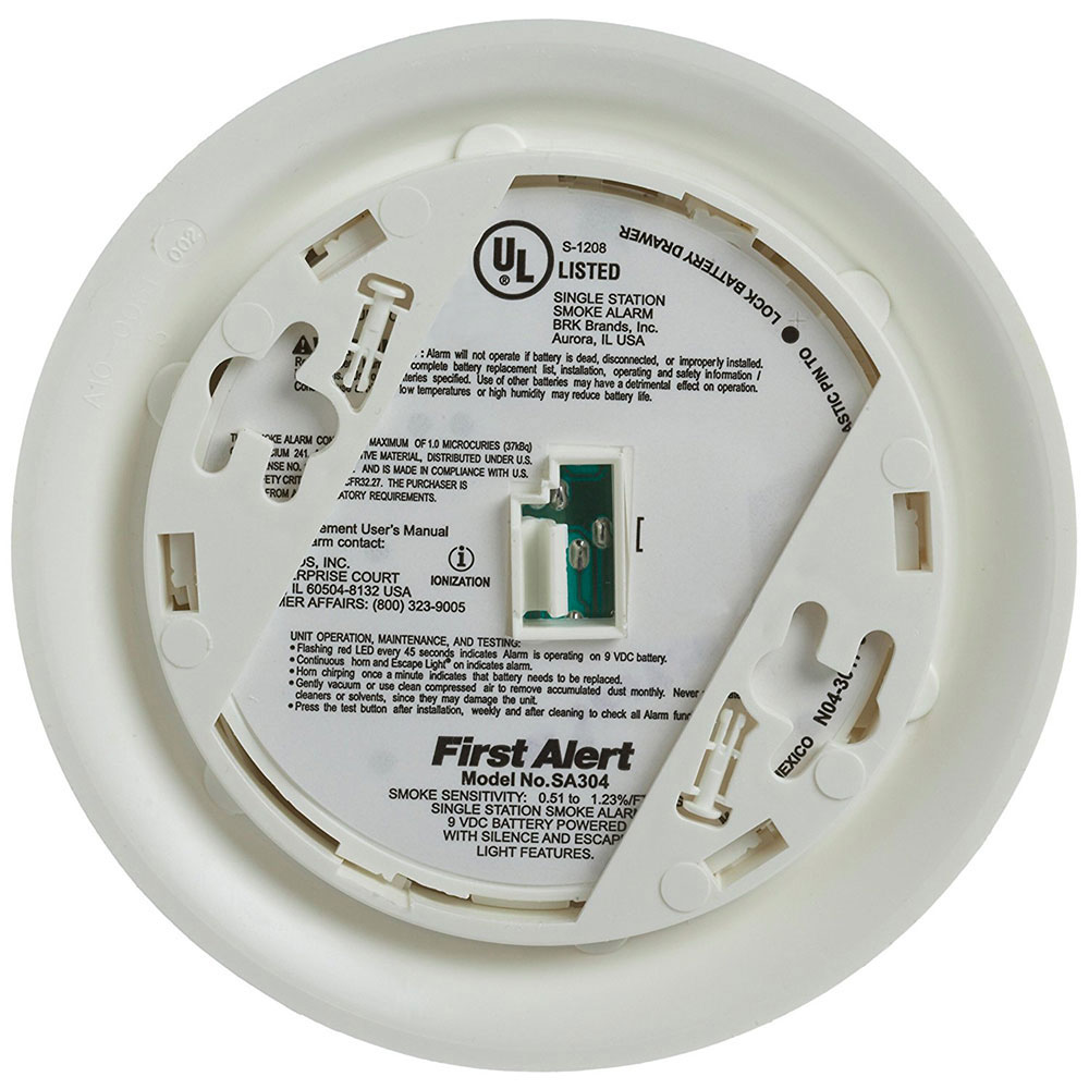 First Alert Sa304cn3 Escape Light Smoke Alarm First