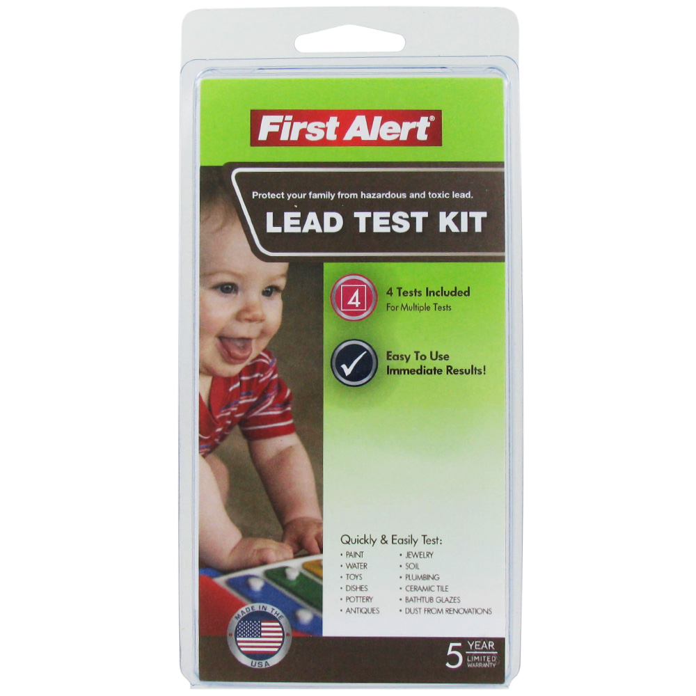first alert water testing kit