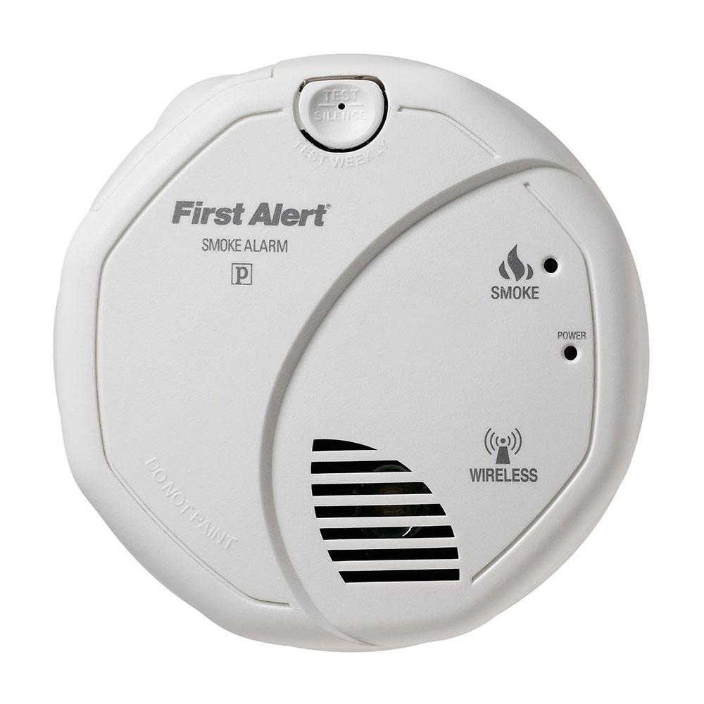 first alert sa501cn 3st wireless interconnect battery operated smoke alarm. Black Bedroom Furniture Sets. Home Design Ideas