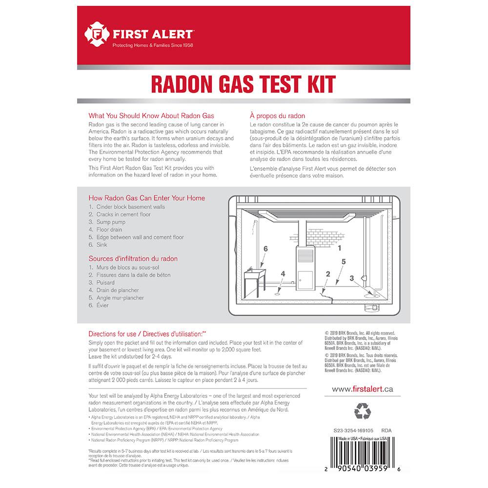 radon test kit epa listed radon test kit under epa gas measurement proficiency program first. Black Bedroom Furniture Sets. Home Design Ideas