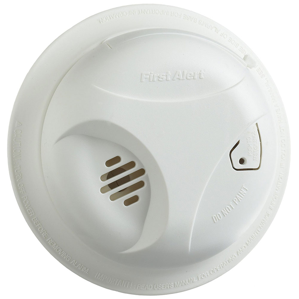 First Alert Sa305cn3 Long Life Battery Smoke Alarm First