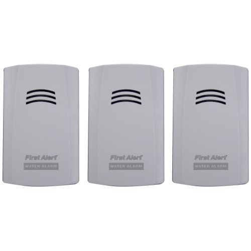 First Alert Wa100 3 Water Alarm 3pk First Alert Store