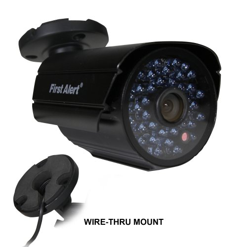 First Alert SmartBridge Digital Wired Indoor and Outdoor Night Vision 520-TVL Security Camera (CM520)