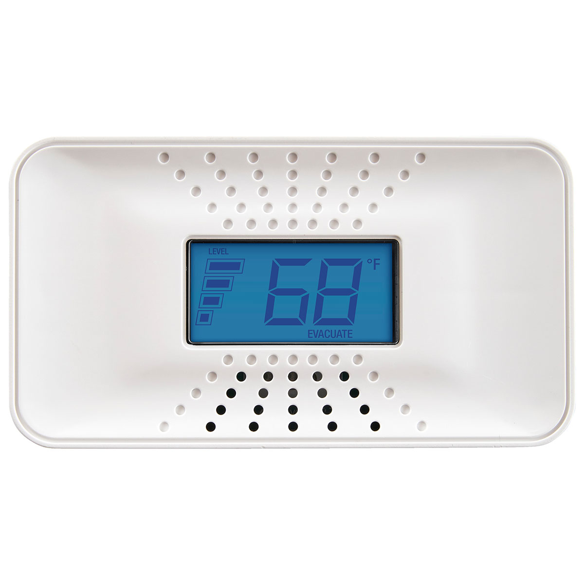 First Alert Carbon Monoxide Alarm with Temperature, Digital Display and 10-Year Sealed Battery, CO710