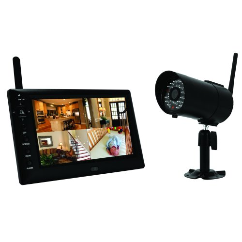 First Alert Digital Wireless Recording System with 7 inch LCD Display and One Digital Camera (DWS-471)