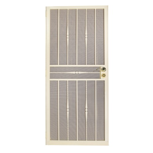 Object moved - White security screen door ...