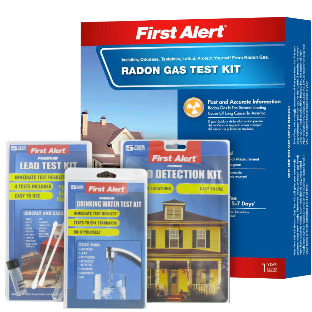 First Alert Home Test Kit Contest Prize Package