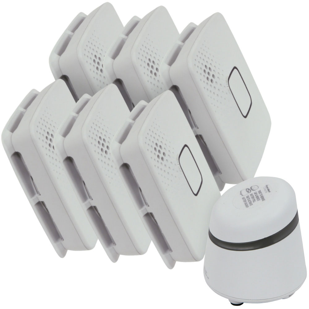 First Alert Onelink Connected Home Smoke, CO and Nursery Value Pack