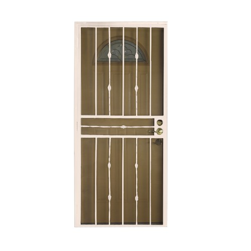 Leslie Locke 65636X80NW Veranda Standard Steel Security Door 36IN X 80IN (Navajo White)