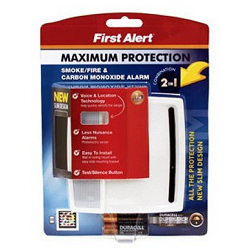 Amazon. Com: first alert pc900v 2-in-1 smoke & carbon monoxide.