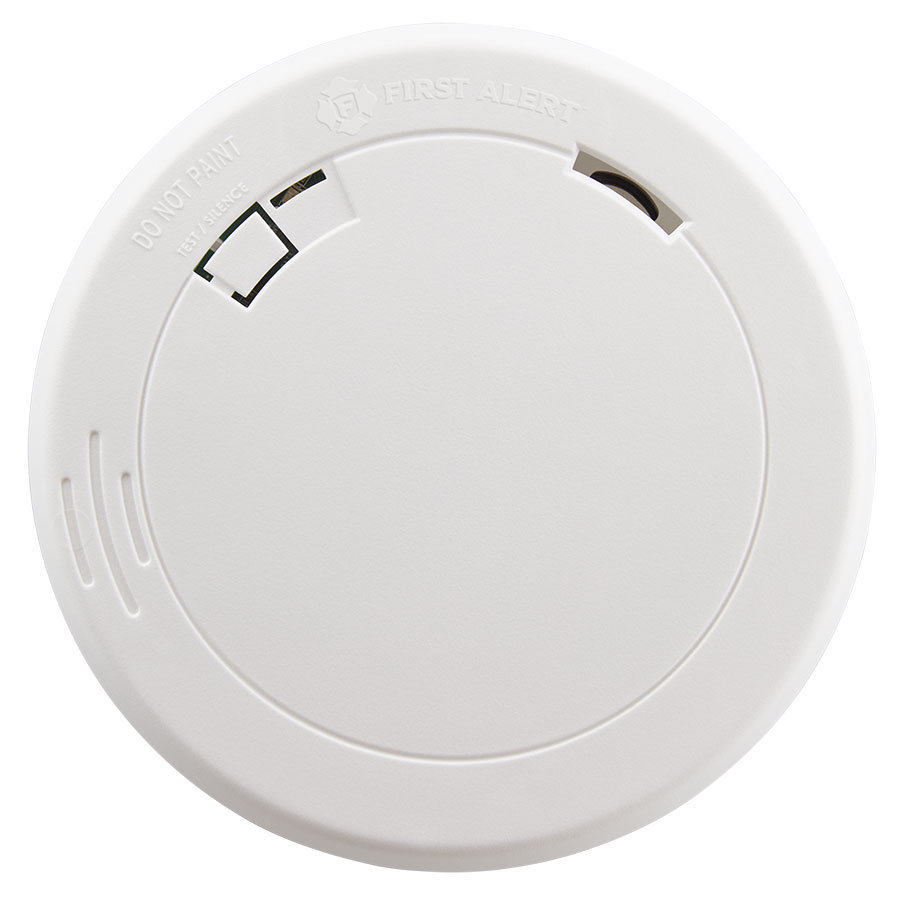 First Alert 10-Year Sealed Battery Photoelectric Smoke Alarm with Slim Design - PR710 (1039852)
