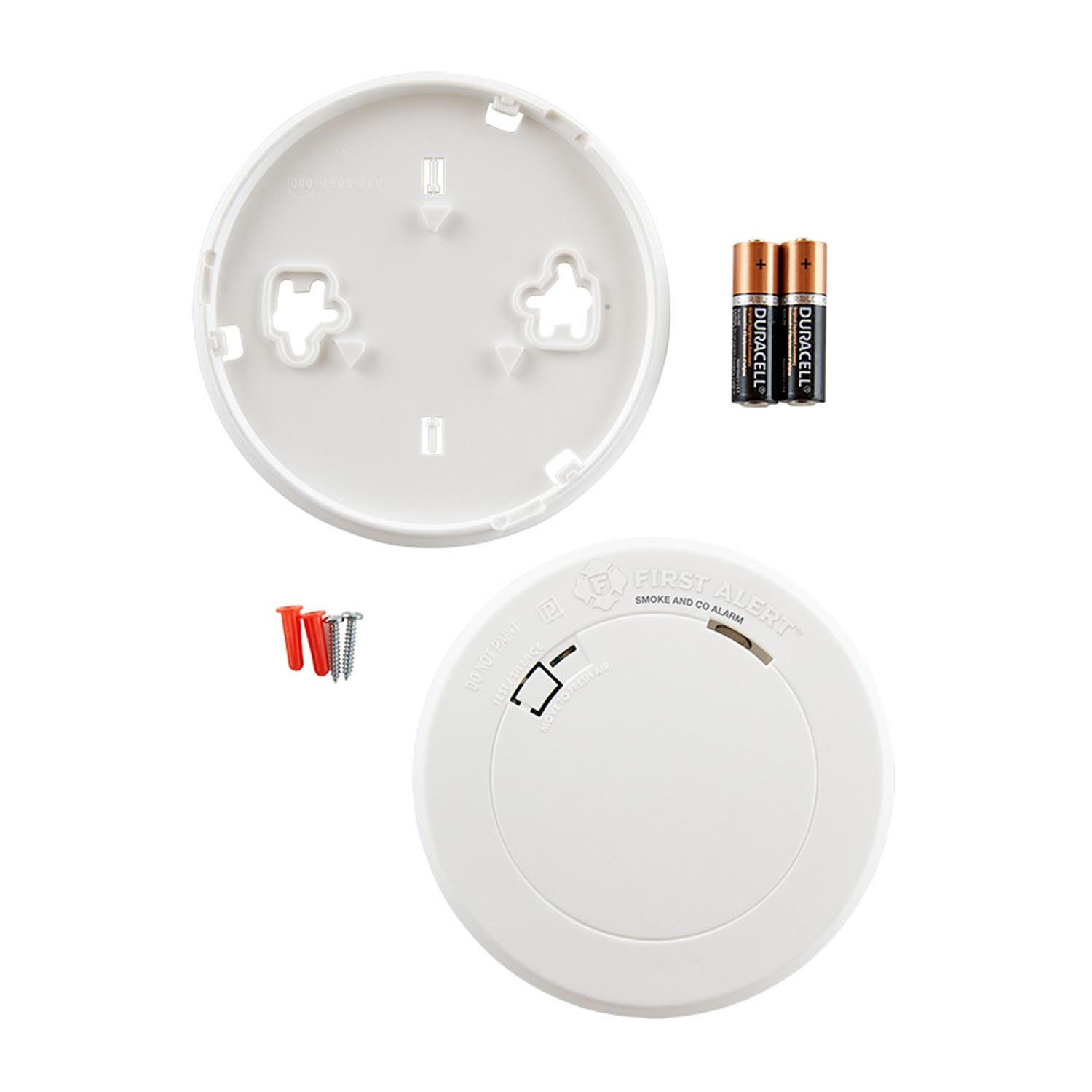 First Alert Slim Design Battery-Operated Combination Smoke & Carbon Monoxide Alarm - PRC700 (1039783)