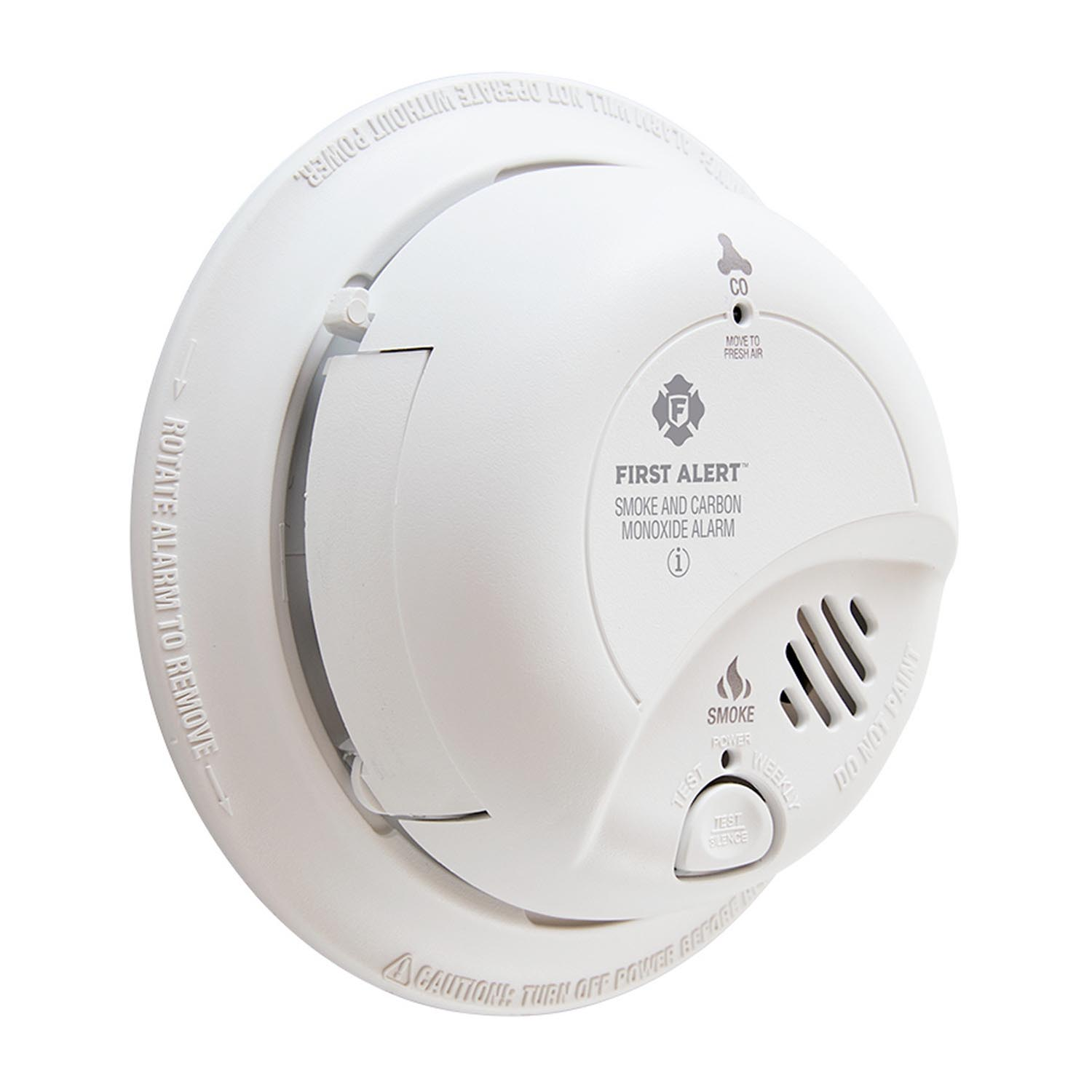 Hardwire Combination Smoke/Carbon Monoxide Alarm with Battery Backup, SC9120B