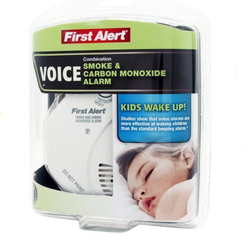 First Alert Child Awakening Combo Smoke & CO Alarm with Voice Location Feature, SC07CN-C