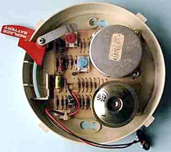 inside a smoke alarm