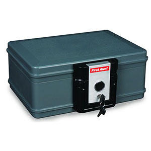 First Alert 0.17 Cubic Foot Fire Protector Chest