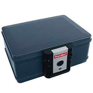 First Alert 0.17 Cubic Foot Fire and Water Protector Chest