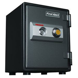 First Alert 2054F Fire and Anti-Theft Combination Safe, .80 Cubic Foot