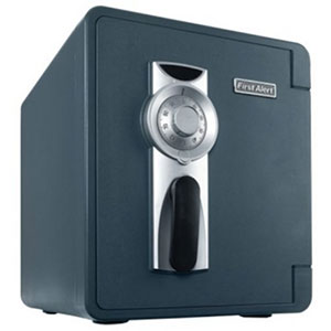 First Alert 2092F-BD Combo Waterproof and Fire Resistant Bolt-Down Safe