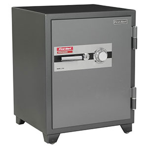 First Alert 2700F Fire Theft Combination Safe, 3.12 Cu. Ft.