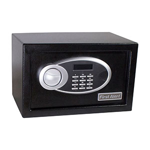 First Alert 4003DFB Anti-Theft Safe, 0.31 Cubic Foot