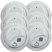 Hardwired Smoke Alarm with Battery Backup - Contractor Pack (48 pack, individually boxed)