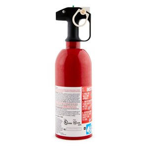 First Alert Auto Fire Extinguisher UL rated 5-B:C (Red)