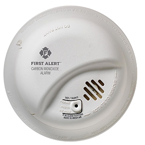Hardwired Carbon Monoxide Alarm with Battery Back-up