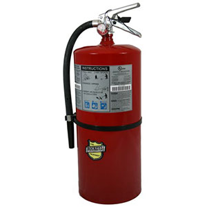 First Alert Rechargeable Heavy Duty Commercial Fire Extinguisher UL Rated 20-A:1