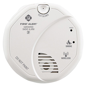 First Alert SA521CN-3ST Wireless Interconnect Hardwired Smoke Alarm (1039830)