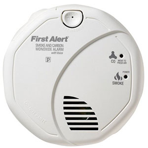 Talking Combination Smoke and Carbon Monoxide Alarm