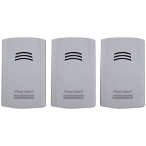 First Alert WA100-3 Water Alarm (3pk)