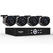Smartbridge Series 4 Channel- Full D1 DVR 500GB Surveillance System DCAD4405-700