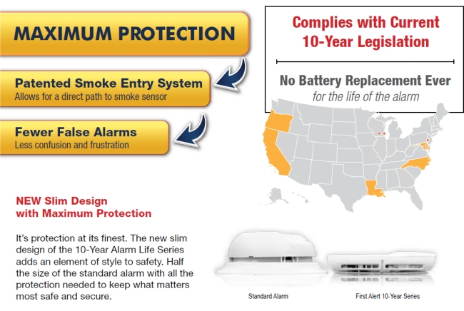 10 year smoke alarm legislation